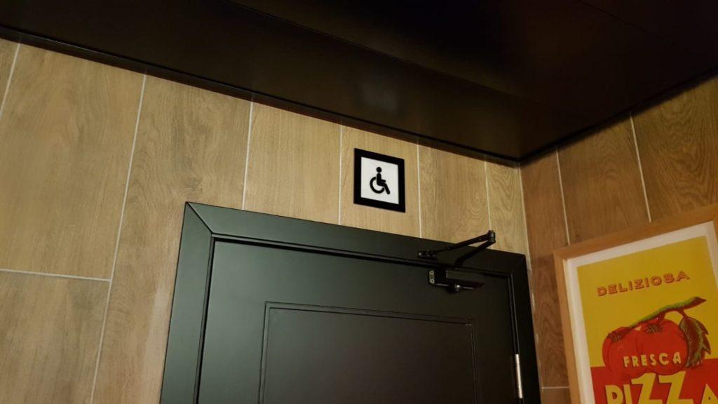 שלטי הכוונה לשירותים